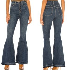 Free People Irreplaceable Flare Jeans Bell Bottoms